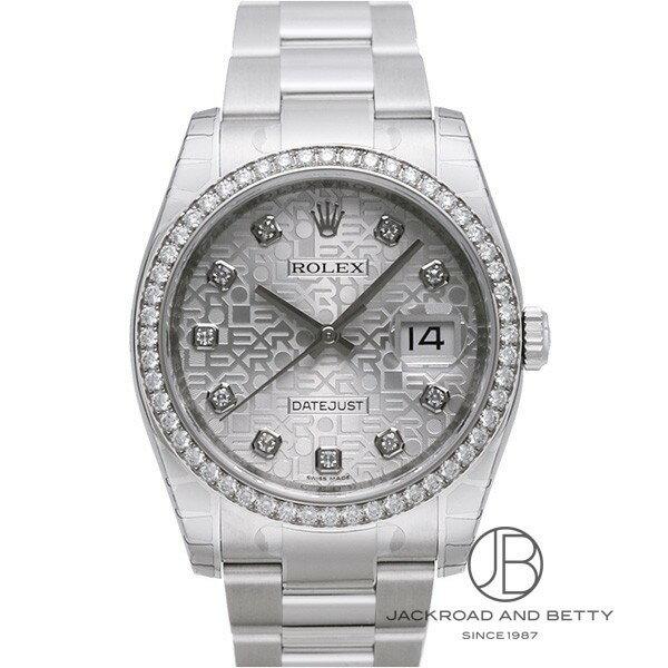 ロレックス ROLEX デイトジャスト ダイヤモンドベゼル 116244G 【新品】 時計 メンズ