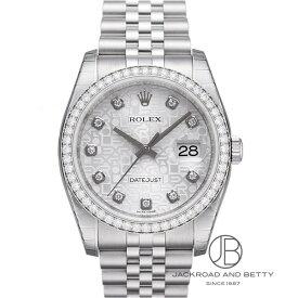 ロレックス ROLEX デイトジャスト ダイヤモンドベゼル 116244G 新品 時計 メンズ