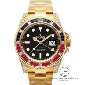 ロレックス ROLEX GMTマスターII 116758SARU 新品 時計 メンズ