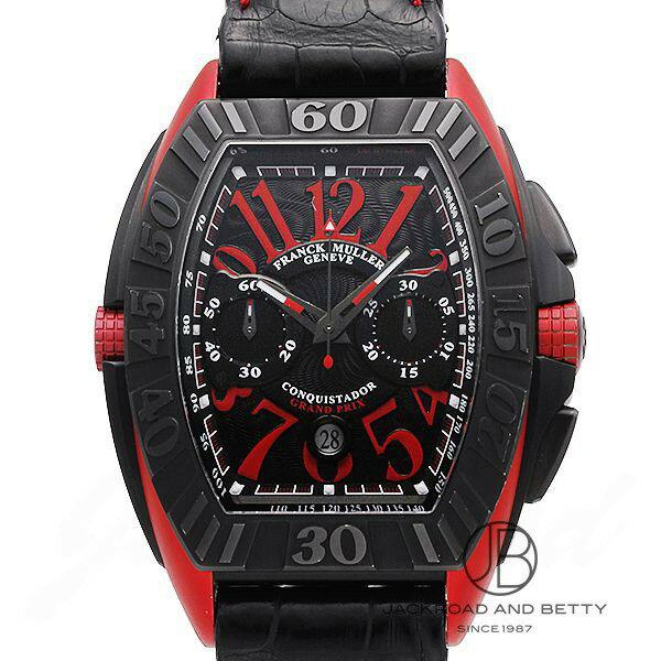 フランク・ミュラー FRANCK MULLER コンキスタドール グランプリ 9900CC DT GPG 【新品】 時計 メンズ
