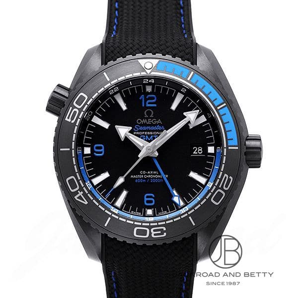 オメガ OMEGA シーマスター 600 プラネットオーシャン GMT コーアクシャル マスタークロノメーター ディープブラック 215.92.46.22.01.002 新品 時計 メンズ