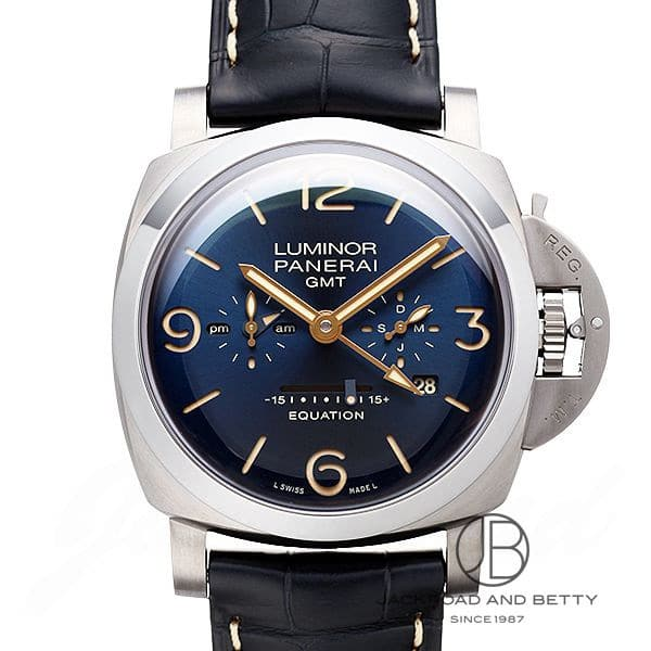 パネライ PANERAI ルミノール 1950 イクエーション オブ タイム 8デイズ GMT チタニオ PAM00670 【新品】 時計 メンズ