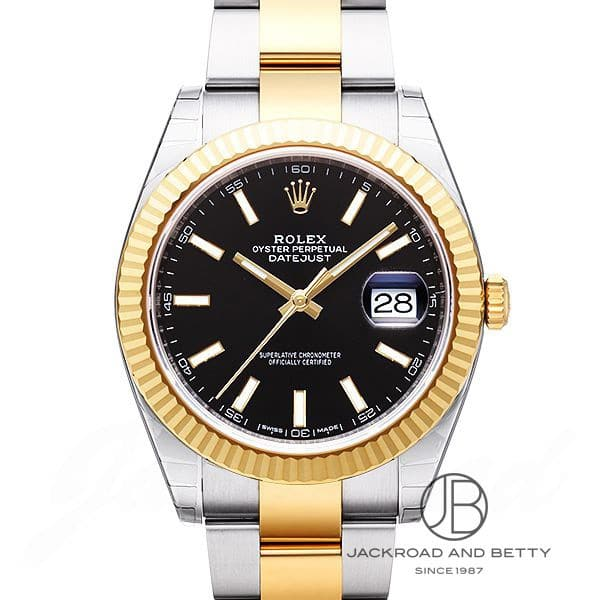 ロレックス ROLEX デイトジャスト41 126333 【新品】 時計 メンズ
