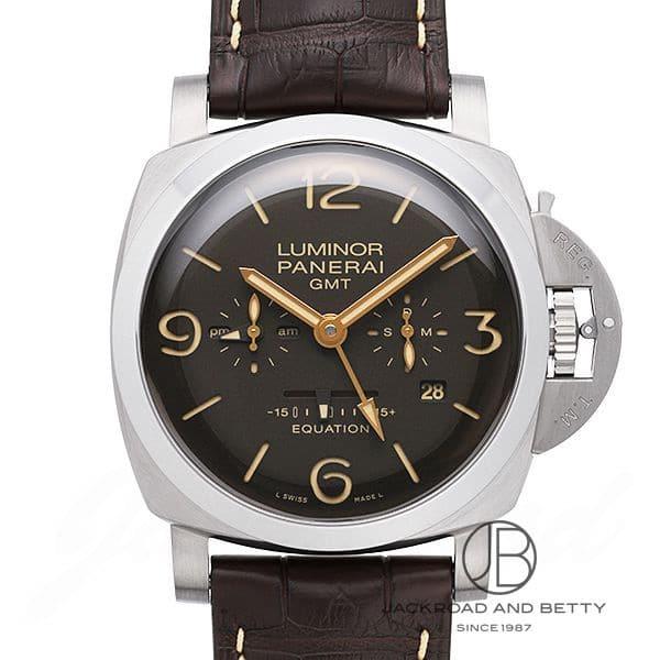 パネライ PANERAI ルミノール 1950 イクエーション オブ タイム 8デイズ GMT チタニオ PAM00656 【新品】 時計 メンズ