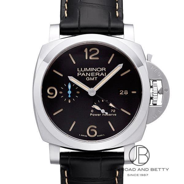 パネライ PANERAI ルミノール 1950 3デイズGMT パワーリザーブ アッチャイオ PAM01321 【新品】 時計 メンズ