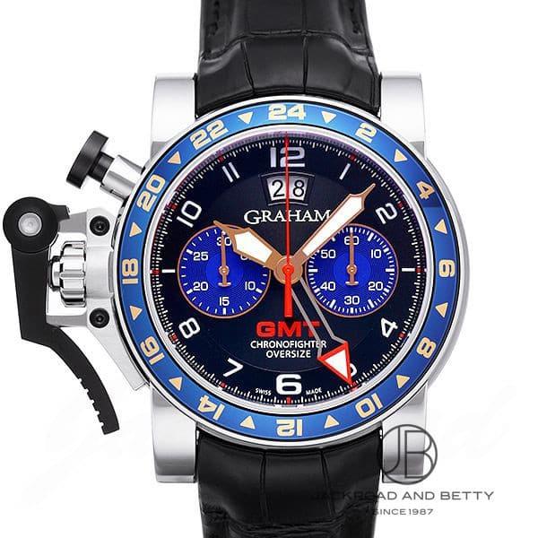 グラハム GRAHAM クロノファイター オーバーサイズ GMT 2OVGS.B26A 【新品】 時計 メンズ