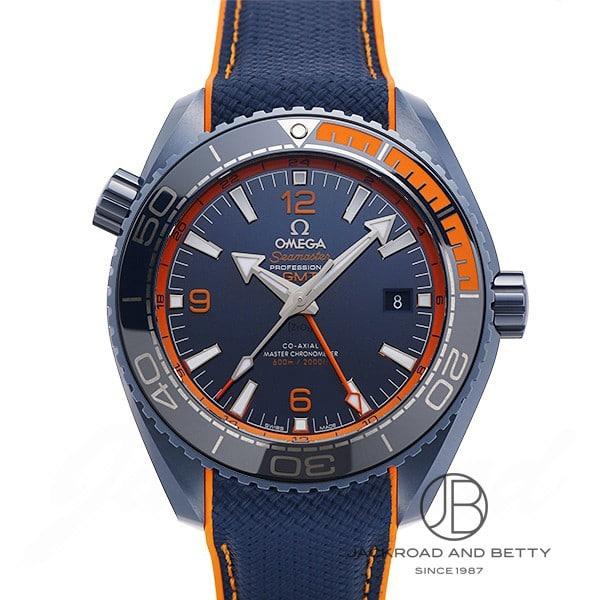 オメガ OMEGA シーマスター 600 プラネットオーシャン GMT コーアクシャル マスタークロノメーター ビッグブルー 215.92.46.22.03.001 【新品】 時計 メンズ
