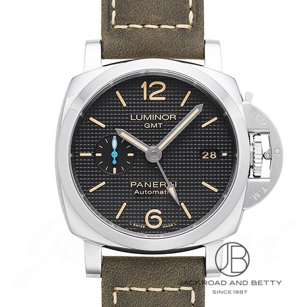 パネライ PANERAI ルミノール 1950 3デイズ GMT アッチャイオ PAM01535 【新品】 時計 メンズ
