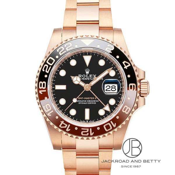 ロレックス ROLEX GMTマスターII 126715CHNR 【新品】 時計 メンズ