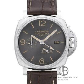 パネライ PANERAI ルミノール ドゥエ 3デイズ GMT パワーリザーブ オートマティック アッチャイオ PAM00944 新品 時計 メンズ