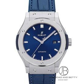 ウブロ HUBLOT クラシック フュージョン ブルー チタニウム 542.NX.7170.LR 新品 時計 メンズ