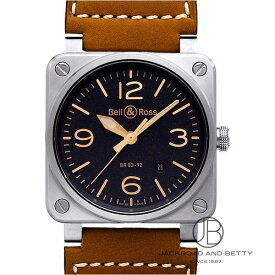 ベル&ロス BELL&ROSS BR03-92 ゴールデン ヘリテージ BR03-92 GOLDEN HERITAGE 新品 時計 メンズ