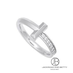 ティファニー TIFFANY&Co. Tワン ナロー ダイヤモンド リング WG 9号 67795520 新品 ジュエリー ブランドジュエリー
