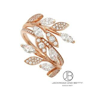 ティファニー TIFFANY&CO. ビクトリア ダイヤモンド ヴァイン バイパス リング RG 68384168 新品 ジュエリー ブランドジュエリー