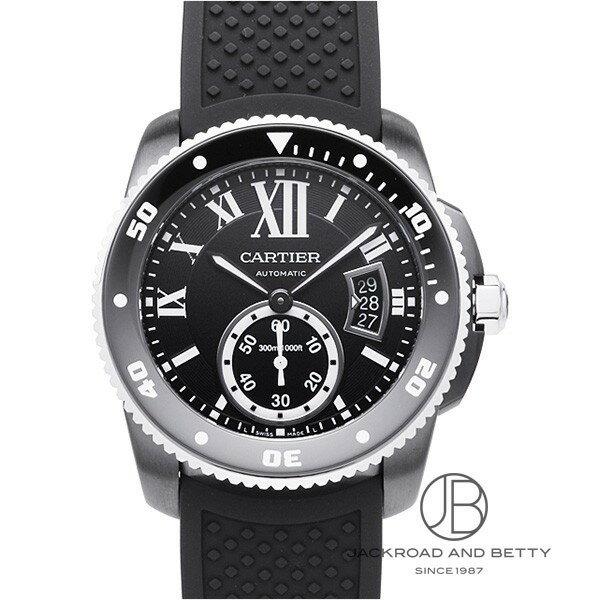 カルティエ CARTIER カリブル ドゥ カルティエ ダイバー カーボン WSCA0006 【新品】 時計 メンズ