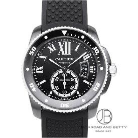 カルティエ CARTIER カリブル ドゥ カルティエ ダイバー カーボン WSCA0006 新品 時計 メンズ