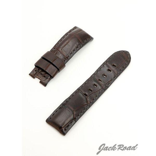 ジャックロード Jackroad パネライ用・オリジナル革ベルト22mm(純正Dバックル仕様) jnd012