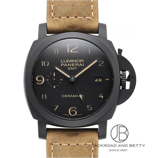 パネライ PANERAI ルミノール 1950 3デイズ GMT セラミカ PAM00441 【新品】 時計 メンズ