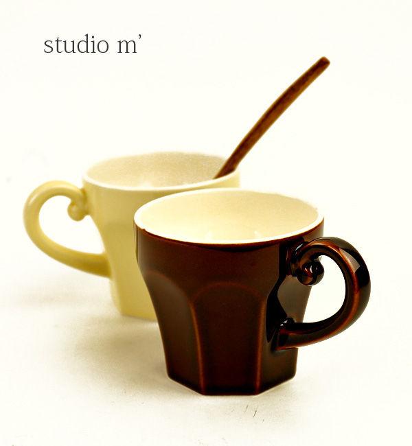 スタジオエム(studio m')半磁器 マグカップ エピスマグ・EPICEMUG-2731901【レディース】【1F-W】