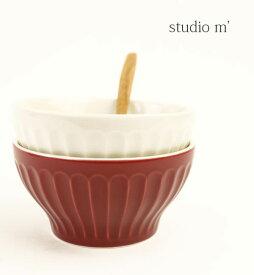 スタジオエム(studio m')半磁器 小鉢 丼 ボウル・BOWL-2731901【レディース】【1F-W】