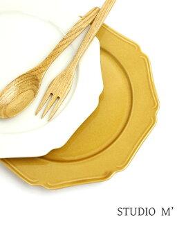 SOBOKAI (sobocai) /studio m ' (Studio am Studio m) ceramic plates many Collet size 8-MANICARETTE8-2731502