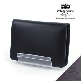 """【ポイント12倍!】ホワイトハウスコックス(Whitehouse Cox)ホースハイド 名刺入れ """"NAME CARD CASE(DERBY COLLECTION)""""・S7412-D-1832101【小物】【JP】"""