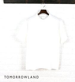 【SALE】トゥモローランド(TOMORROWLAND)コットン 半袖 クルーネック Tシャツ・63-11-42-11204-0171501【メンズ】【40】