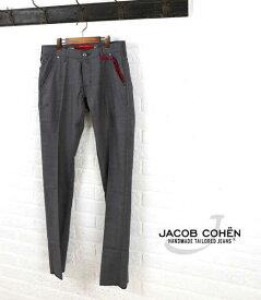【エントリーでポイント24倍!】ヤコブコーエン(JACOB COHEN)ウール 5ポケット パンツ・226-70472-3451501【メンズ】