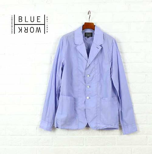 【30%OFF】ブルーワーク(Blue Work)コットン テーラードジャケット BEACH HOUSE BR COUNTER SHIRTS・54-01-62-01110-0171601【メンズ】
