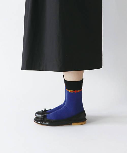 フレンチブル(French Bull)レーヨン混 靴下 レユールソックス・11-08182-1851802【メール便可能商品】[M便 3/5]【レディース】【JP】【■■】