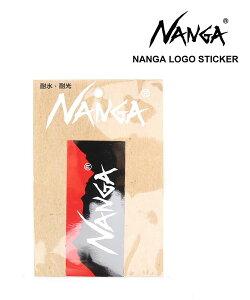 ナンガ(NANGA) ナンガ ロゴ ステッカー シール・LOGO-STICKER-4422101【メール便可能商品】[M便 1/5]【メンズ】【レディース】【■■】