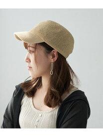 [Rakuten Fashion]【SALE/54%OFF】ペーパーサーモキャップ ROPE' PICNIC PASSAGE ロペピクニック 帽子/ヘア小物 キャップ ホワイト グレー【RBA_E】
