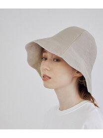 【La Maison de Lyllis】OHANA TULIP HAT MADEMOISELLE ROPE' ロペ 帽子/ヘア小物 ハット ホワイト ブラウン【先行予約】*【送料無料】[Rakuten Fashion]