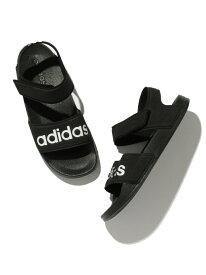 【一部店舗限定】【adidas】アディダス ADILETTE SANDAL ROPE' PICNIC PASSAGE ロペピクニック シューズ サンダル/ミュール ブラック イエロー[Rakuten Fashion]