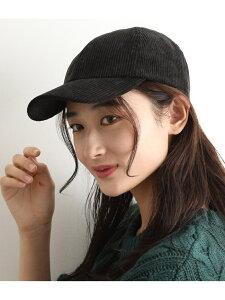 [Rakuten Fashion]【SALE/70%OFF】コーデュロイキャップ ViS ビス 帽子/ヘア小物 キャップ ブラック ブラウン ベージュ【RBA_E】