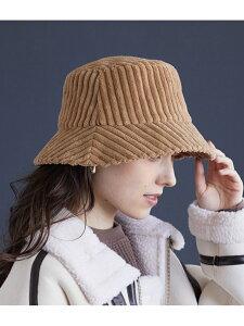 【SALE/30%OFF】太コーディロイバケットハット ViS ビス 帽子/ヘア小物 ハット ブラウン ブラック【RBA_E】[Rakuten Fashion]