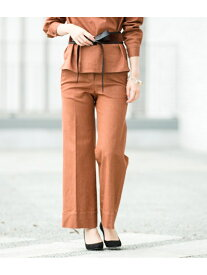 [Rakuten Fashion]デニム風ベルボトムパンツ ADAM ET ROPE' アダムエロペ パンツ/ジーンズ パンツその他 ブラウン ネイビー【送料無料】