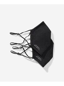 Saturdays NYC 3-Layer Fabric Masks 2-Pack SATURDAYS NYC サタデーズ ニューヨークシティ 生活雑貨 トーイ/ホビー ブラック[Rakuten Fashion]
