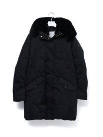 [Rakuten Fashion]【WOOLRICH】 COCOON PARKA ADAM ET ROPE' アダムエロペ コート/ジャケット ダウンジャケット ブラック グリーン【送料無料】