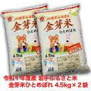 令和01年産JA岩手ふるさと金芽米ひとめぼれ(4.5kg×2袋)セット