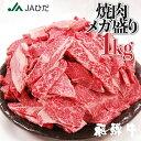 7月19日(月)~順次発送【JAひだ】飛騨牛 焼き肉 メガ盛り 1kg 牛肉 焼肉 カルビ 肉 福袋 3〜5人前 送料無料 部位が選…