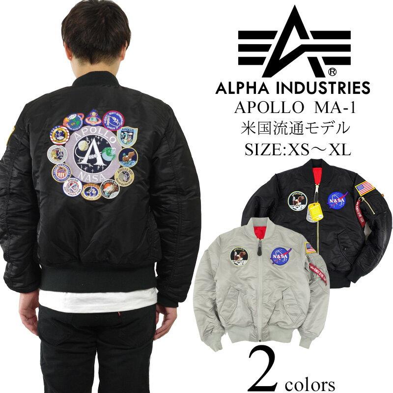 アルファ インダストリーズ ALPHA アポロ MA-1 フライトジャケット ■バンダナプレゼント■ (APOLLO MA1 INDUSTRIES)