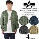 アルファ インダストリーズ ALPHA ALS/92 LINER M-65ジャケット用キルティングライナー (M65 ライニング INDUSTRIES)