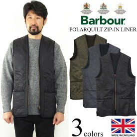 バブアー Barbour ポーラーキルト ジップイン ライナー (キルティング ベスト フリース Polarquilt Zip-In Liner)
