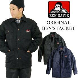 ベンデイビス BEN DAVIS ベンズジャケット アメリカ流通モデル (メンズ 394/396 S-XL ベンデービス カバーオール ワークジャケット ブランケット裏地)