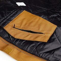 カーハートCarharttC003ダックトラディショナルコートDUCKTRADITIONALCOATワークジャケット|メンズ定番防寒アウター12オンス内側は保温性の高いキルティングライナー襟コーデュロイUSAカーハートブラウンブラックネイビー茶黒紺