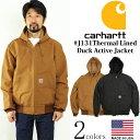 カーハート Carhartt J131 ダックアクティブジャケット サーマル裏地 メンズ 米国製 アメリカ製 MADE IN USA Thermal-Lined Duck Active Jacket