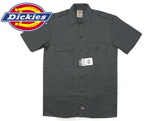 Dickies Dickies 1574 short sleeve work shirt charcoal (S/S WORK SHIRT white)