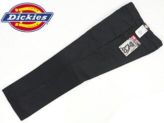 874 dickies Dickies original work pants black BIG SIZE (874 ORIGINAL WORK PANT chino pants)