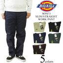 ディッキーズ Dickies WP873 スリム ストレート ワークパンツ アメリカ流通モデル (SLIM STRAIGHT WORK PANT チノパン)